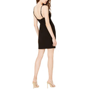 City Studio Womens Juniors Studded Bodycon Party Dress