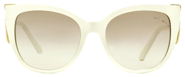 Roberto Cavalli Cateye Sunglasses RC1063 Giannutri 21G Ivory 54mm 1063