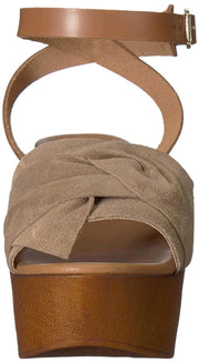 Seychelles Womens Deep Breathe Suede Open Toe Casual Platform Sandals