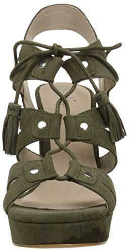 Shellys London Womens Fiona Suede Open Toe Casual Strappy Sandals
