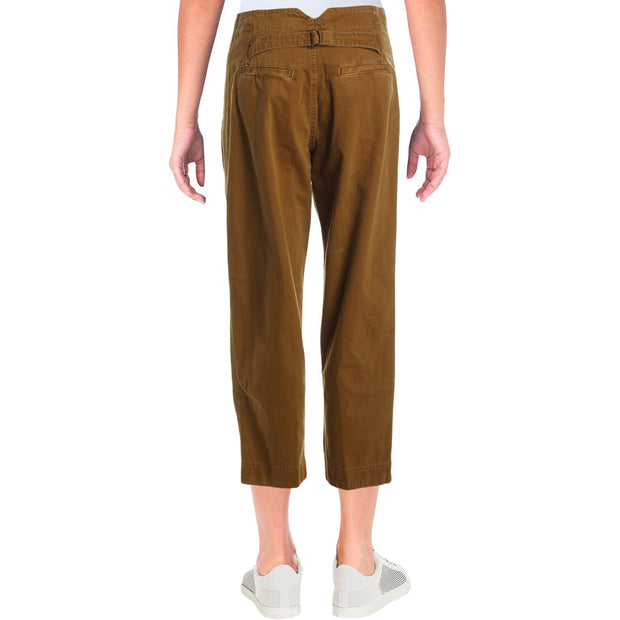 Womens Cotton Boyfriend Chino Pants