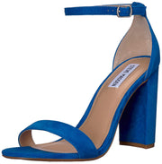 Steve Madden Womens Carrson Leather Open Toe Special Occasion Ankle Strap Sandals