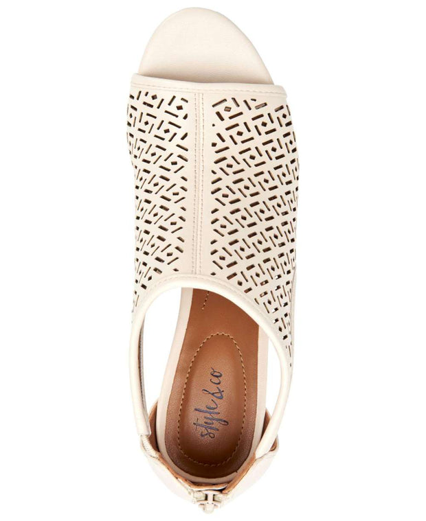 Style & Co. Womens Hyrine Open Toe Special Occasion Mule Sandals