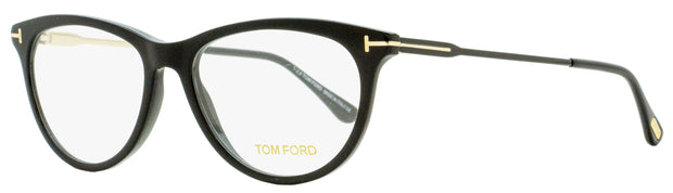 Tom Ford Oval Eyeglasses TF5509 001 Black/Gold 54mm FT5509