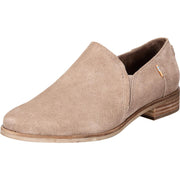 Shaye Low Womens Suede Slip On Shooties