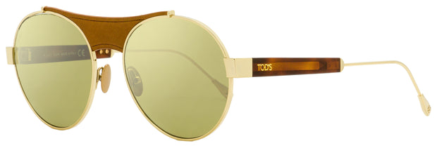 Tod's Titanium Sunglasses TO0216 33Q Gold/Havana 54mm 216