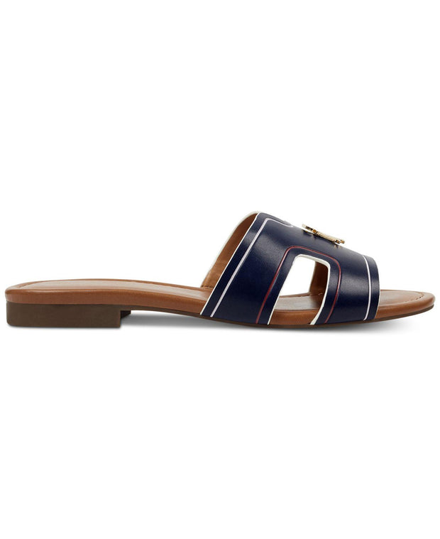 Tommy Hilfiger Womens Sugari Open Toe Casual Slide Sandals