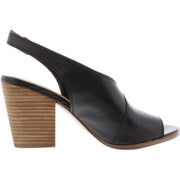 Lucky Brand Womens Ovrandie Leather Block Heel Heel Sandals
