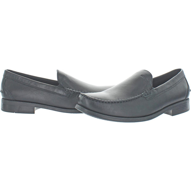 Damon Mens Leather Slip On Loafers