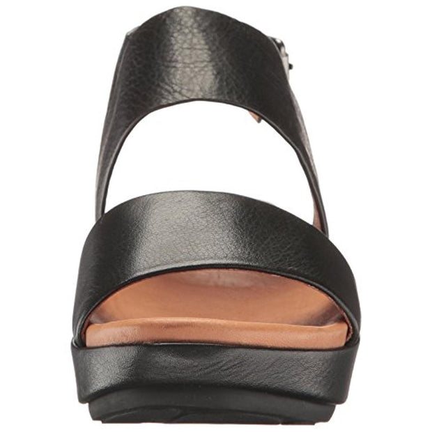 Lori Womens Open Toe Slingback Wedge Sandals