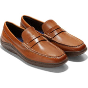 Moto Grand Traveler Mens Leather Comfort Penny Loafers