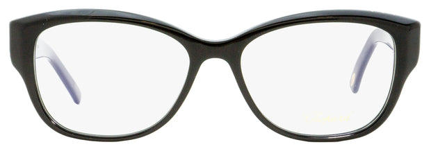 Chopard Oval Eyeglasses VCH197R 0700 Shiny Black/Gold 53mm 197