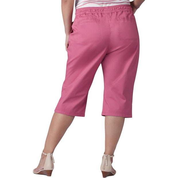 Plus Womens Relaxed Fit Long Skimmers