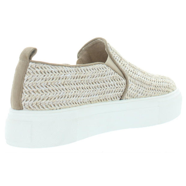 Ela Womens Wove Slip-On Fashion Sneakers