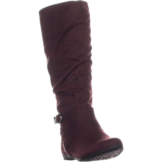 WHITE MOUNTAIN Fairfeild Women's Boots Burgundy Size 11 M