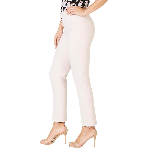 Womens Skinny Mid Rise Ankle Pants