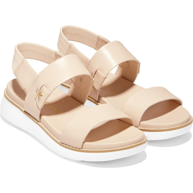 ZEROGRAND Global  Womens Leather Ankle Strap Flatform Sandals