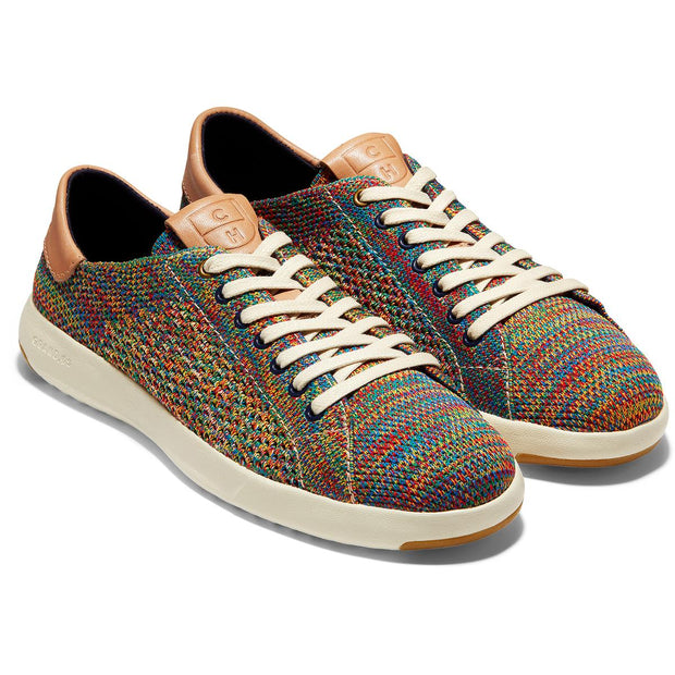 Grandpro Tennis Stitchlite Womens Knit Athletic Fashion Sneakers