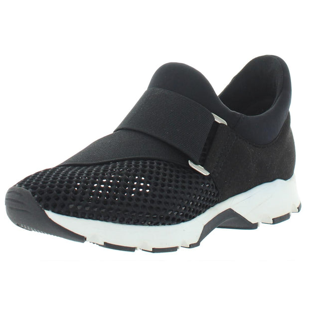 Womens Mesh Fitness Slip-On Sneakers