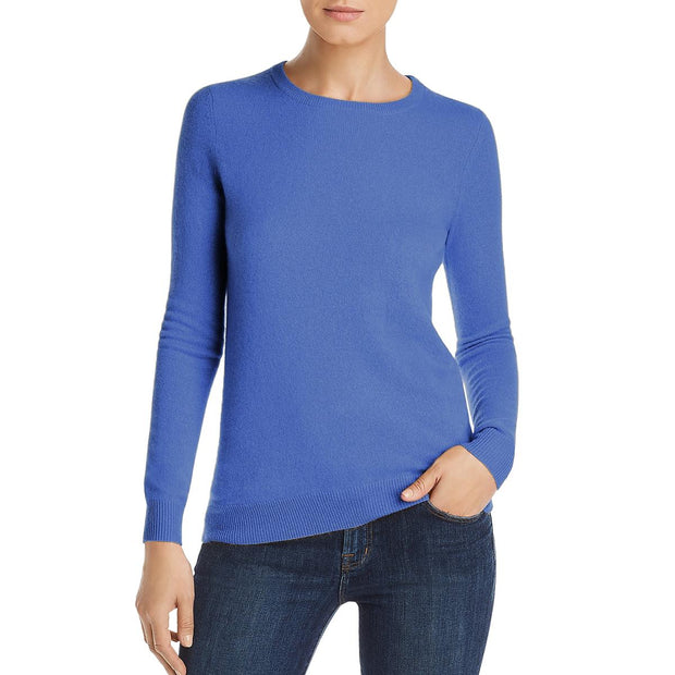 Private Label Womens Cashmere Crew Neck Sweater