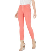 Hudson Womens Barbara Denim High Rise Colored Skinny Jeans