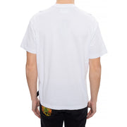 Versace Jeans Couture Men's Metallic Logo Shirt White