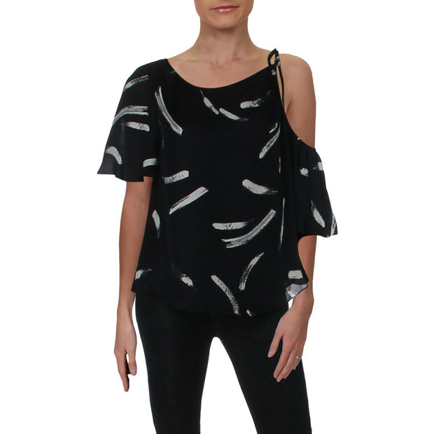 Womens Chiffon Printed Blouse