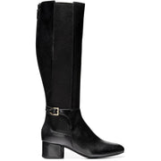 Cole Haan Womens Avani Leather Waterproof Riding Boots