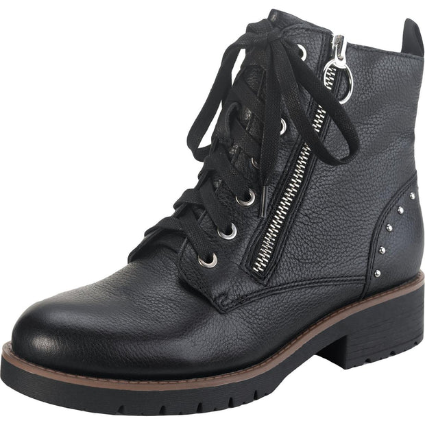 American Rag Womens Tatum Leather Studded Combat Boots