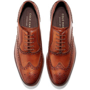 Hamilton Grand Mens Leather Perforated Oxfords