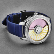 Christian Dior Women's CD153B10A001 'Grand Bal' Pink Dial Diamond Set Swiss Automatic Watch