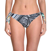 Becca by Rebecca Virtue Womens Printed Reversible Swim Bottom Separates