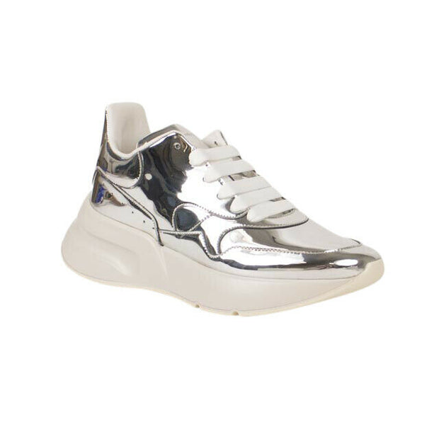 ALEXANDER MCQUEEN Metallic Oversized Runner Sneakers
