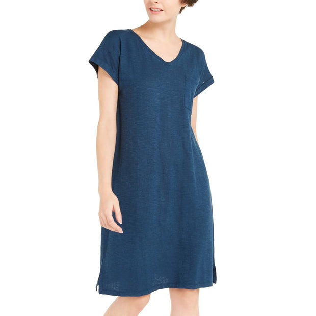 Womens Casual V-Neck Casual Dress