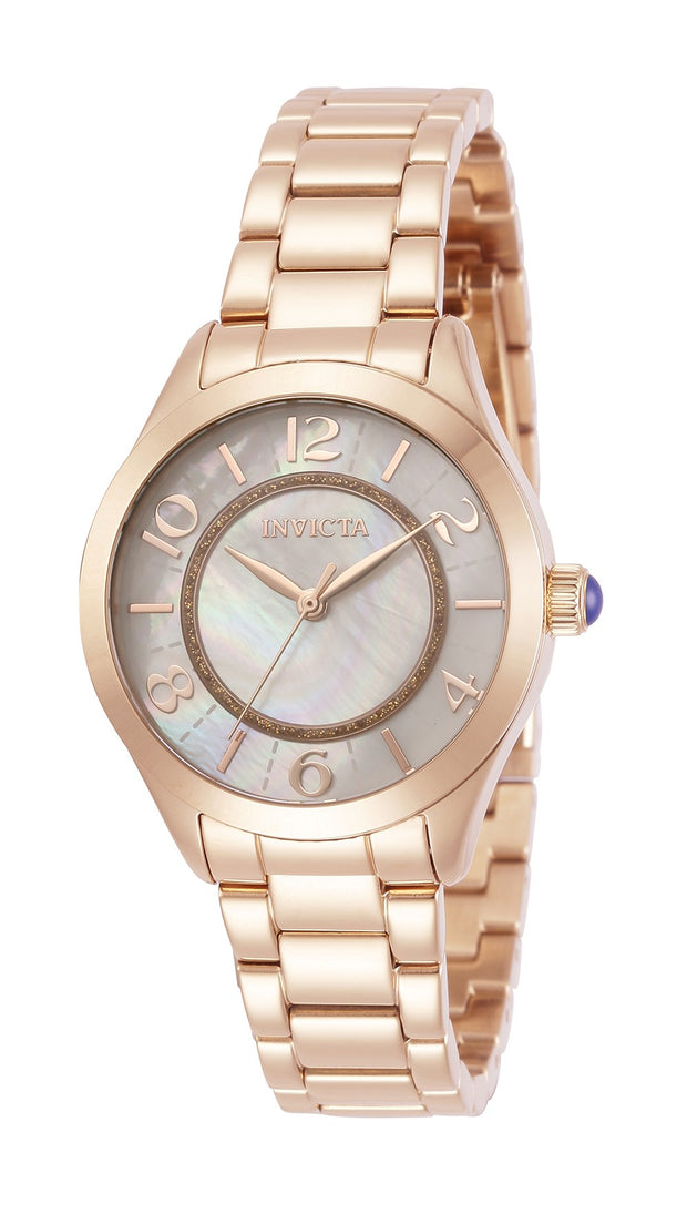 Invicta Women's Angel 31114 33mm White Dial Stainless Steel Watch