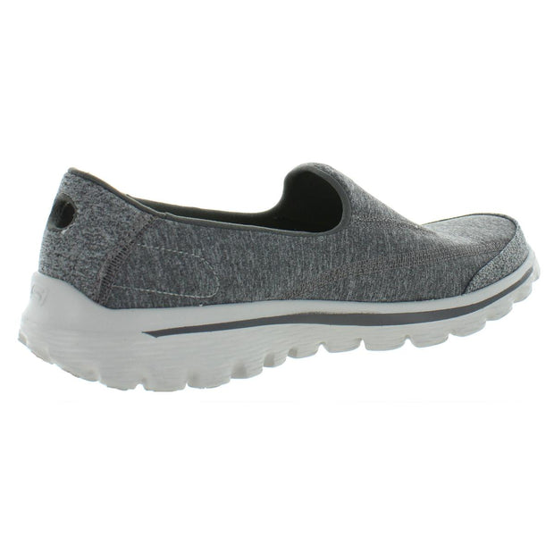 Go Walk 2 Womens Heathered Casual Walking Shoes