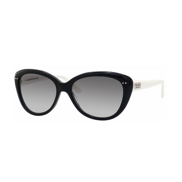 Kate Spade Women's Angelique/S Cat-Eye Sunglasses Black Cream