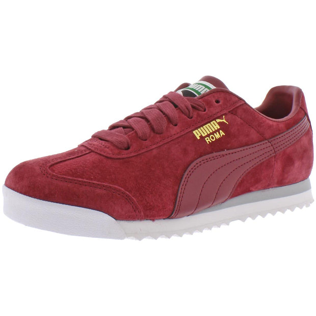 Puma Boys Roma Gents Suede Athleisure Fashion Sneakers