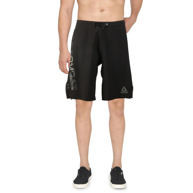 Combat MMA Mens Fitness Work Out Shorts