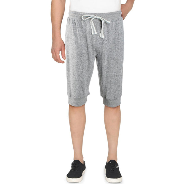 Mens Cropped Comfy Jogger Pants