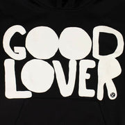 VALENTINO Black Cotton 'Good Lover' Sweatshirt