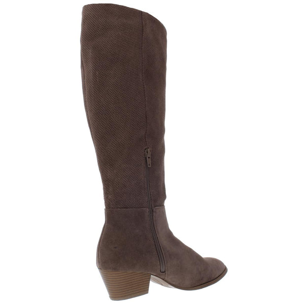 Style & Co. Womens Izalea 2 Leather Tall Knee-High Boots