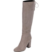 Kenneth Cole Reaction Womens Corie Lace Faux Suede Tall Dress Boots