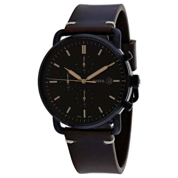 Fossil Men's Commuter Black Dial Watch - FS5403