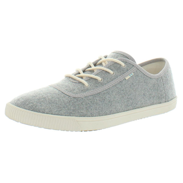 Carmel Womens Heathered Lace-Up Casual Shoes