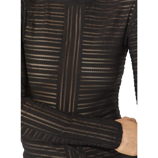 Womens Jacquard Knit Pullover Top