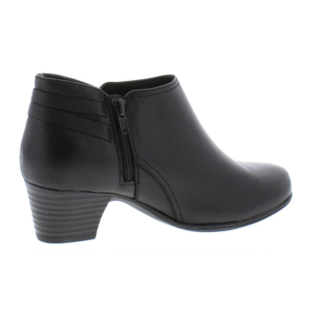 Valarie Ashley Womens Leather Shooties Ankle Boots