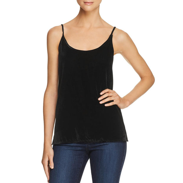 7 For All Mankind Womens Velvet Sleeveless Cami