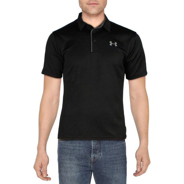 Mens Quick Dry Performance Polo Shirt