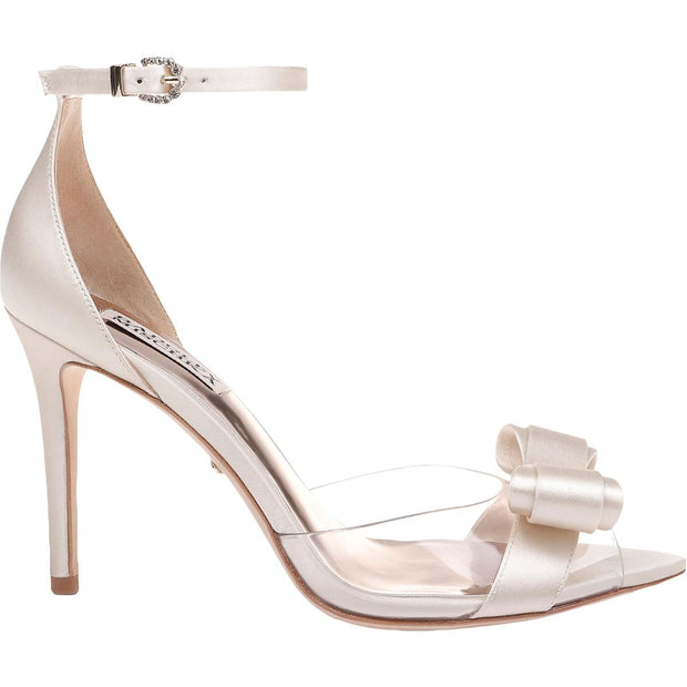 Lindsay Womens Ankle Strap Stiletto Evening Sandals